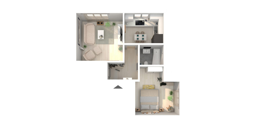 Apartament 1 Parter