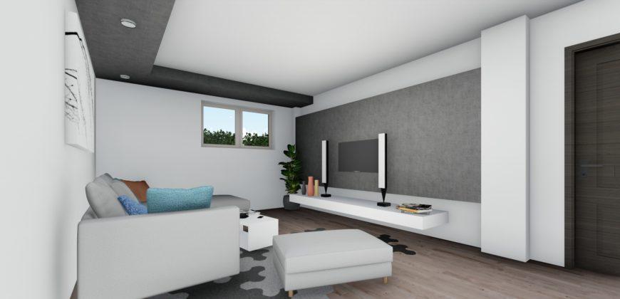 Apartament 1 Demisol B2