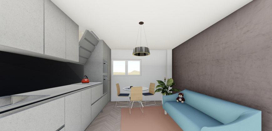 Apartament 4 Demisol B1