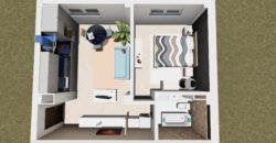 Apartament 3 Demisol B2